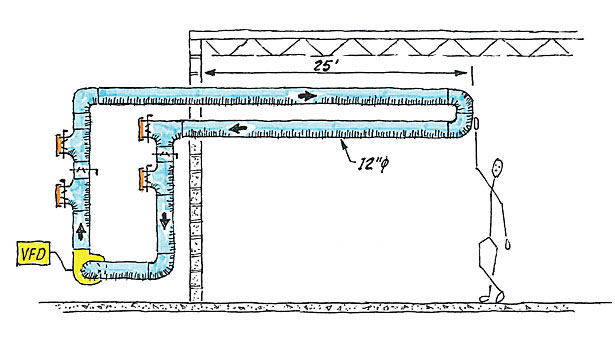 Fan Duct Schematic