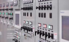 Figure 3. Russelectric paralleling switchgear.
