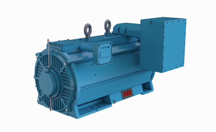 AXW Large AC Motors – ABB
