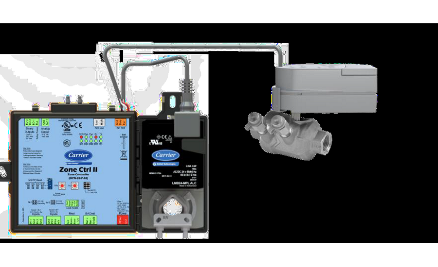 Smart Valves Added to the i-Vu® Building Automation System – Carrier
