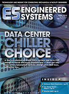 ES April 2016 cover: Data Center Chiller Choice