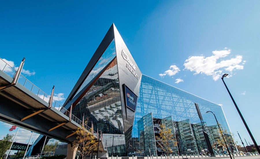 U.S. Bank Stadium in Minneapolis employed an energy-efficient pumping system