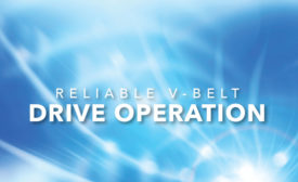 Reliable V-Belt Drive Operation