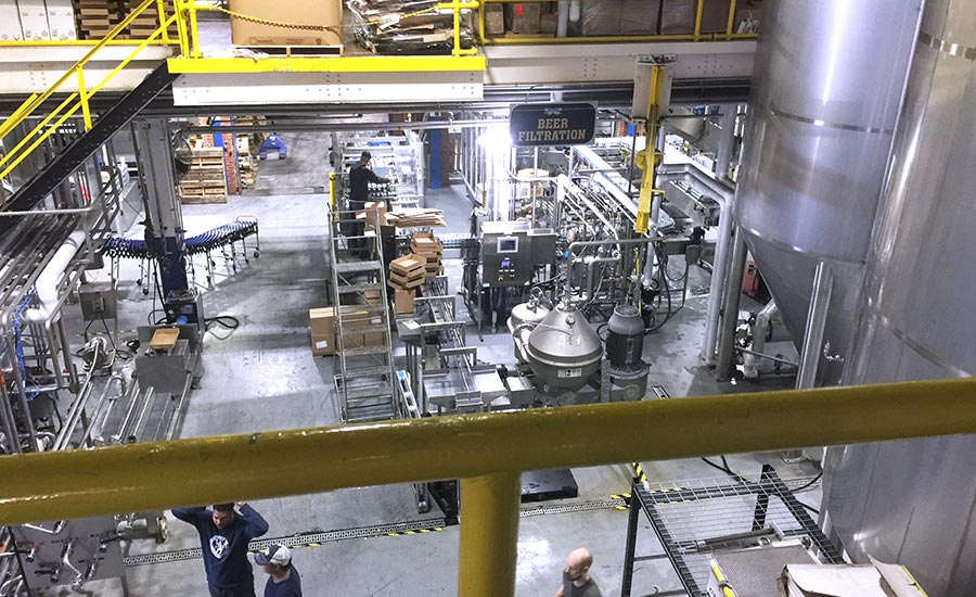 Two air-cooled screw chillers are helping Two Roads Brewing Company to double its production