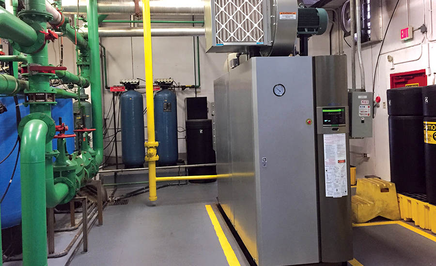 A major soft drink manufacturer in Florida took advantage of a new boiler program