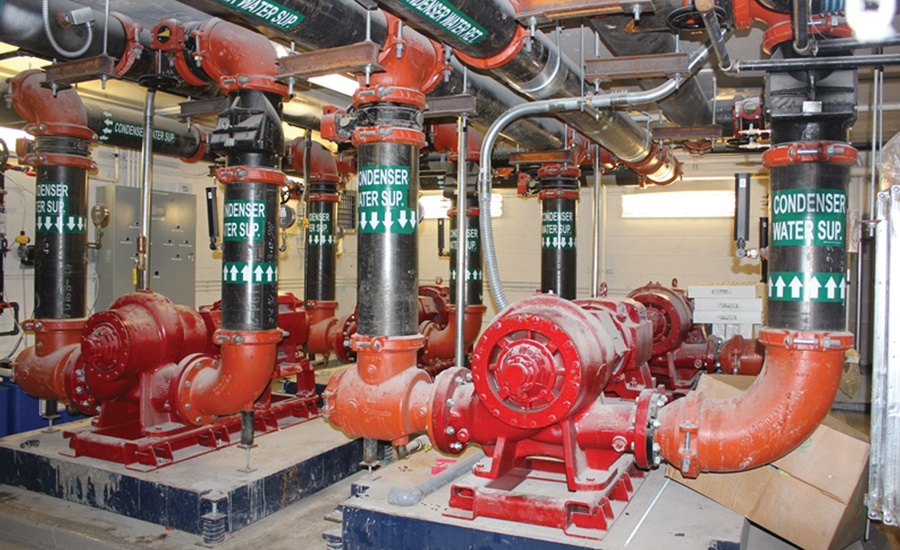 A new luxury building in the Hell's Kitchen neighborhood of NYC used customfabricated piping for its HVAC system
