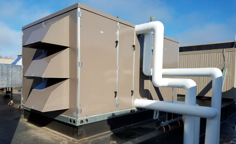 ERVs improve HVAC system performance