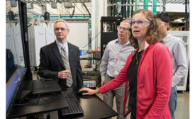 NREL researchers Annabelle Pratt