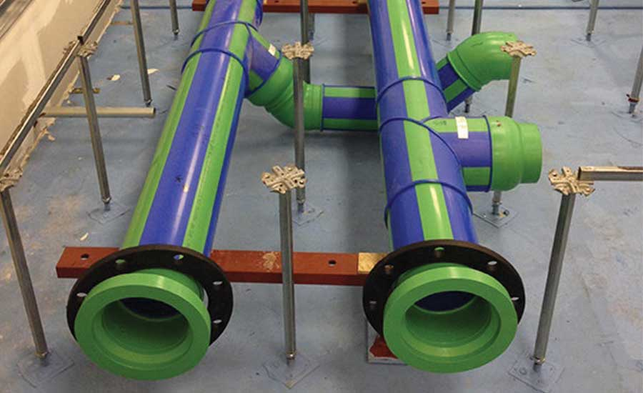 Polypropylene pipe is available in a variety of sizes