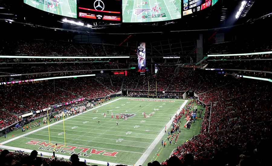 Engineering Touchdowns At Super Bowl Liii S Mercedes Benz Stadium 2019 02 01 Engineered Systems Magazine