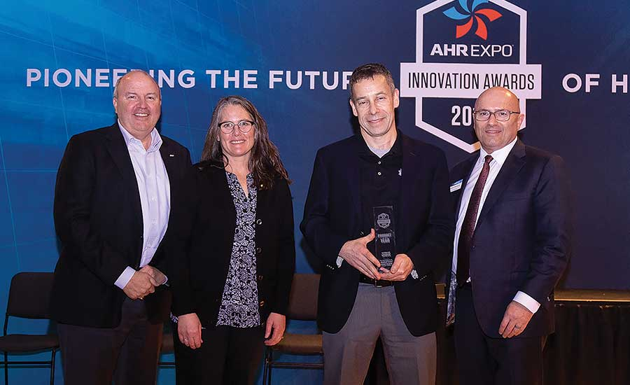 Udi Meirav receives the AHR Expo Product of the Year Award