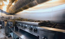 Remodeling a Poorly Ventilated Hospital Kitchen
