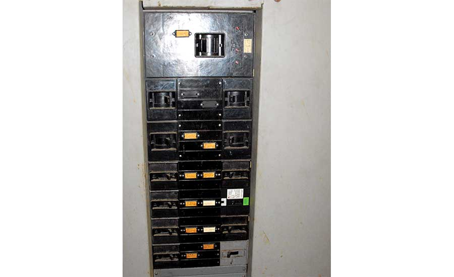 Electrical breaker panel