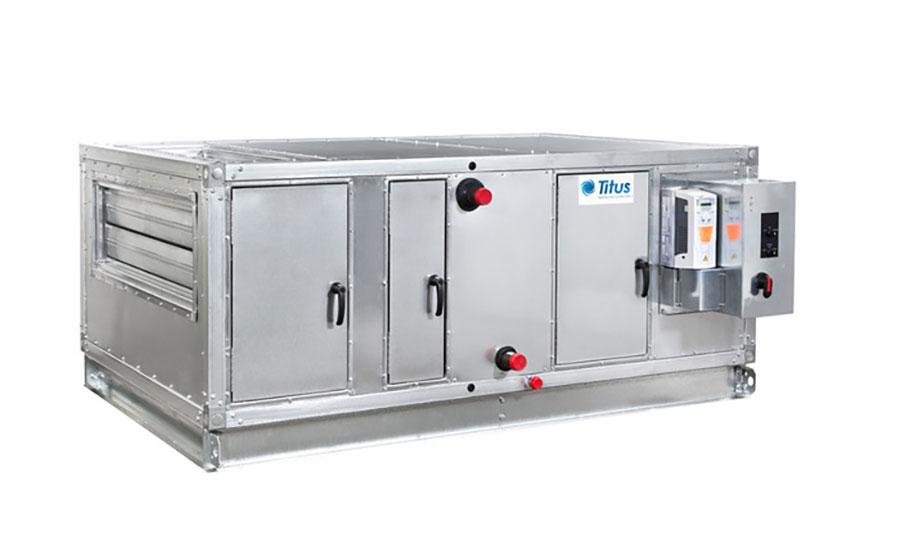 Air Handling System : Air handling unit titus hvac engineered