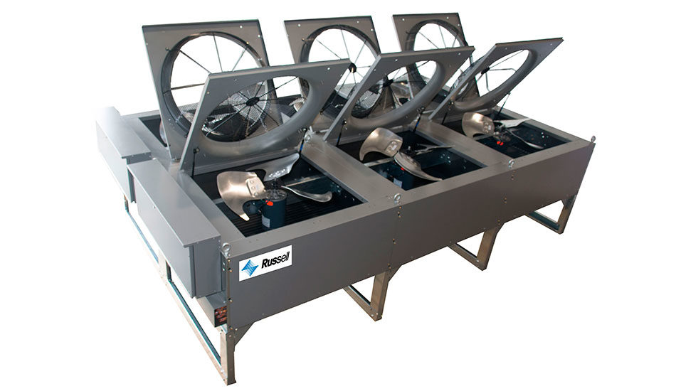 Air cooled condensers heat transfer products group llc for Air motors and drives llc