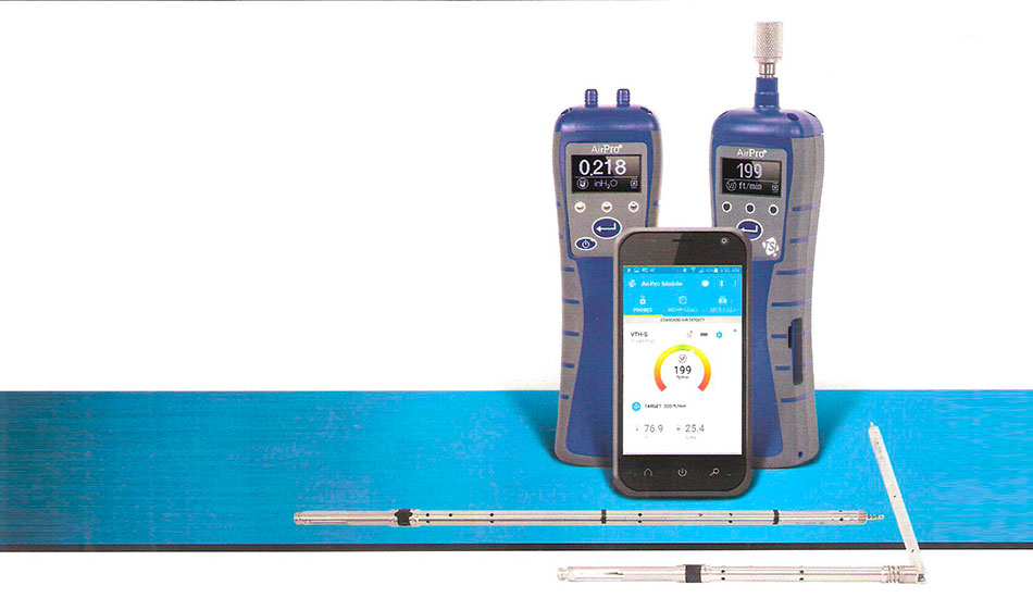 Wireless AirPro Instruments - TSI