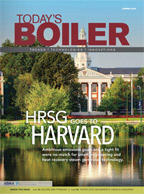 Spring 2016 Today's Boiler: HRSG goes to Harvard