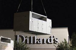 Dillards rooftop, VFD