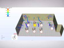 Optimized Building Air Distribution