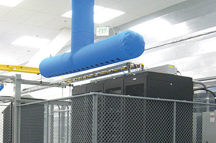 Fabric Duct Solution Unburdens Data Center Build Outs