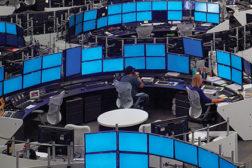 high-density trading floor