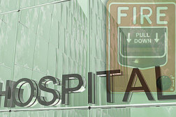 hospital, fire alarm, healthcare HVAC