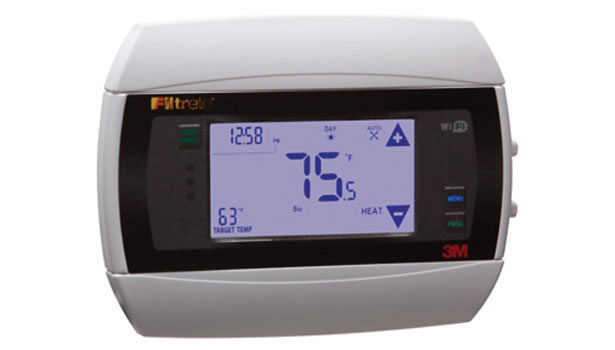 FIGURE 1. 3M Filtrete thermostat by RadioThermostat.