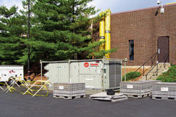 temporary cooled chiller
