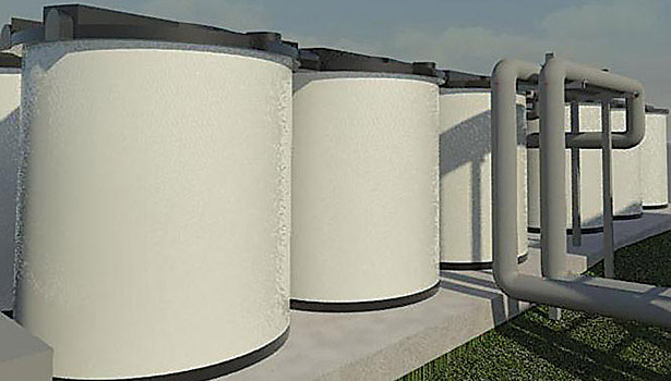 ice storage tanks