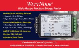 WATT NODE WIDE-RANGE MODBUS ENERGY METER
