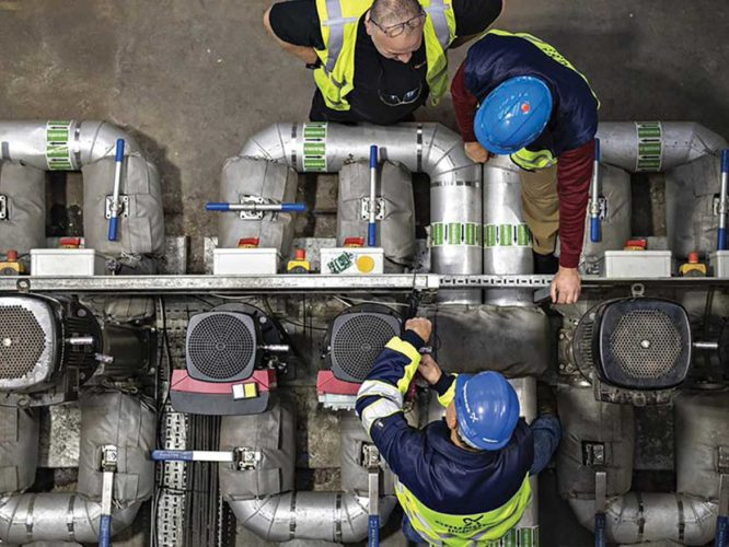 pump installation