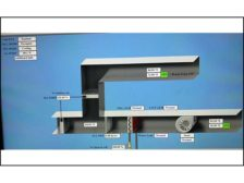 chilled water, cooling-only air-handling unit (AHU)